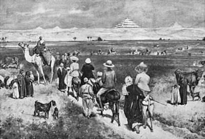 Visiting the Pyramids by Walter Paget