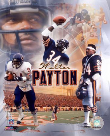 "Walter Payton ""Legends"" Composite"