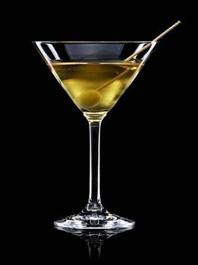 A Manhattan Dry with Olive by Walter Pfisterer