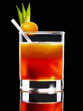 An Orange Cocktail by Walter Pfisterer