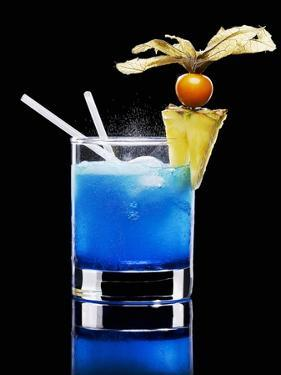 Drink Made with Blue Curaçao by Walter Pfisterer