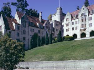 Berkeley University, Near San Francisco, California, USA by Walter Rawlings