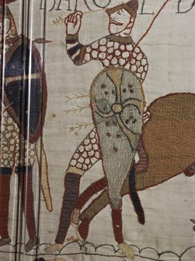 Death of King Harold, Bayeux Tapestry, 69, Normandy, France by Walter Rawlings