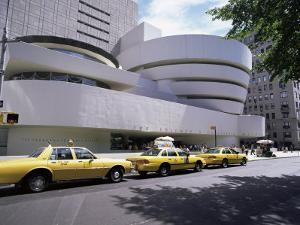 Guggenheim Museum on 5th Avenue, New York City, New York State, USA by Walter Rawlings