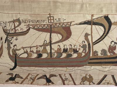 Invasion Fleet, Bayeux Tapestry, France