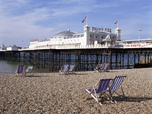 Palace Pier, Brighton, East Sussex, England, United Kingdom by Walter Rawlings