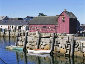 Rockport, Cape Ann, Northeast from Boston, Massachusetts, New England, USA by Walter Rawlings