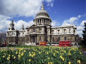 St. Paul's Cathedral, London, England, United Kingdom by Walter Rawlings
