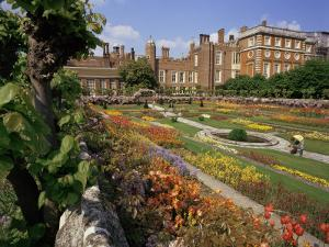 Sunken Gardens, Hampton Court Palace, Greater London, England, United Kingdom by Walter Rawlings