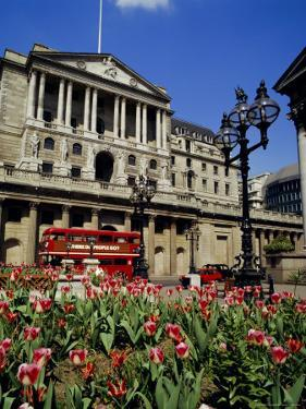 The Bank of England, Threadneedle Street, City of London, England, UK by Walter Rawlings