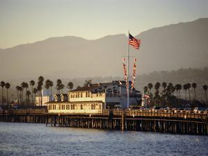 The Pier, Santa Barbara, California. USA by Walter Rawlings