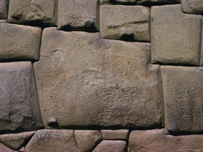 The Stone of Twelve Angles, the Inca Palace of Hatunrumiyoc, Cuzco, Peru