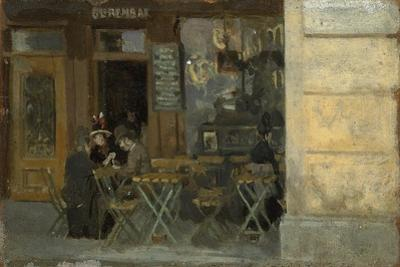 Cafe in Dieppe, C. 1884-5 by Walter Richard Sickert