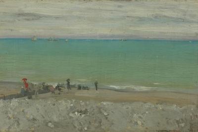La Plage, Dieppe, C.1885 by Walter Richard Sickert