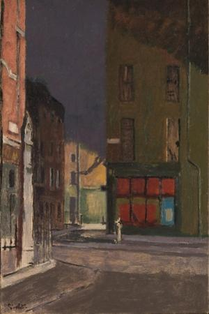 Maple Street, London, c.1915-23 by Walter Richard Sickert