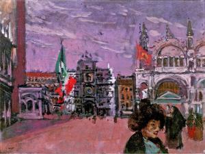 Piazza San Marco, Venice, C.1903-06 by Walter Richard Sickert