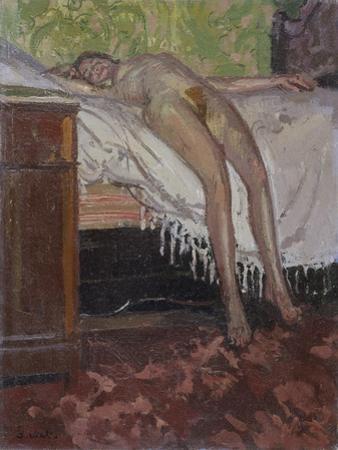 Reclining Nude , 1906 by Walter Richard Sickert