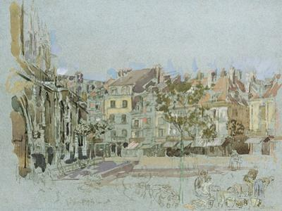 Rue De La Boucherie, Dieppe by Walter Richard Sickert