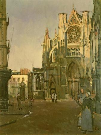 St. Jacques Church, Dieppe by Walter Richard Sickert
