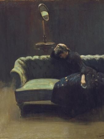 The Acting Manager or Rehearsal: the End of the Act, C.1885-6
