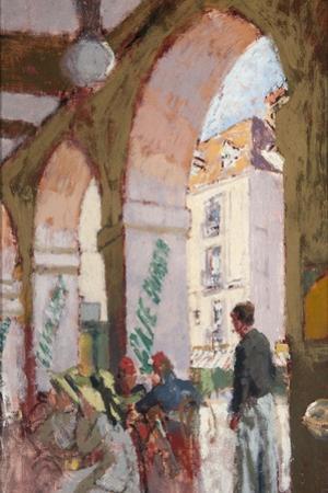 The Café Suisse, 1914 by Walter Richard Sickert