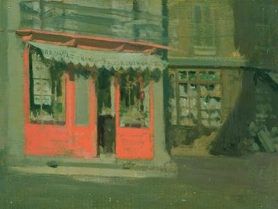 The Red Shop by Walter Richard Sickert