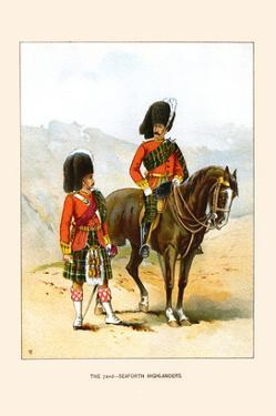 72nd Seaforth Highlanders by Walter Richards