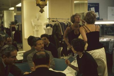 American Fashion Designer Oleg Cassini in His Salon, New York, New York, 1960 by Walter Sanders