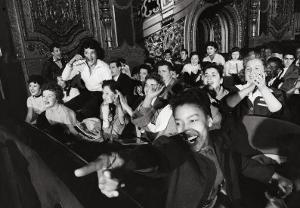 Audience Members Enjoying Alan Freed's Easter Show at Brooklyn Paramount Theater by Walter Sanders
