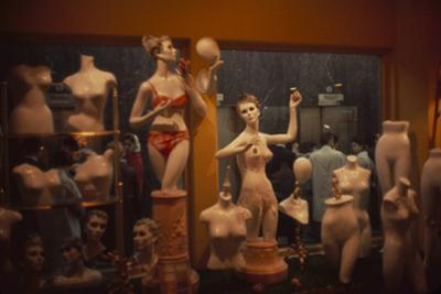 View of a Store's Window Display That Features Mannequins, New York, New York, 1960 by Walter Sanders