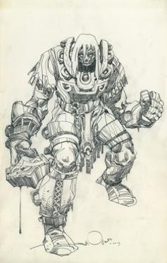 Character Pencils by Walter Simonson