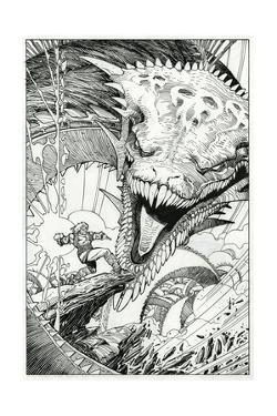 Page Inks by Walter Simonson