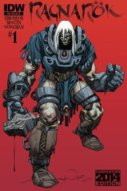 Ragnarok Issue No. 1 - Convention Exclusive Cover by Walter Simonson