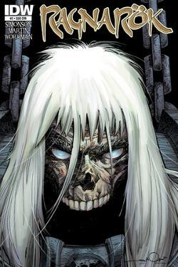 Ragnarok Issue No. 2 - Subscription Cover by Walter Simonson
