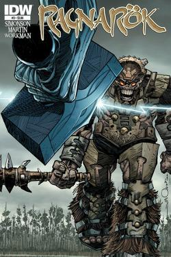 Ragnarok Issue No. 3 - Standard Cover by Walter Simonson