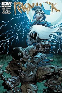 Ragnarok Issue No. 4 - Standard Cover by Walter Simonson
