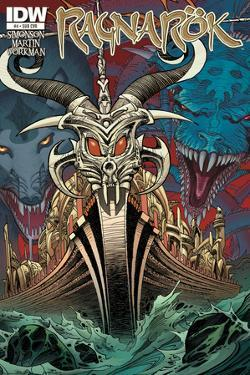 Ragnarok Issue No. 4 - Subscription Cover by Walter Simonson
