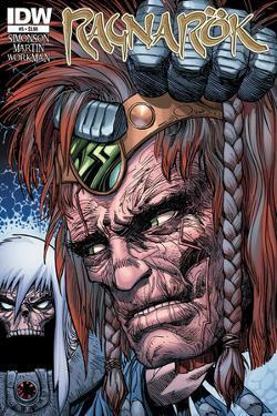 Ragnarok Issue No. 5 - Standard Cover by Walter Simonson