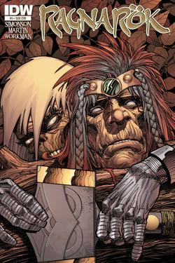 Ragnarok Issue No. 5 - Subscription Cover by Walter Simonson