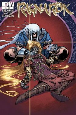 Ragnarok Issue No. 6 - Standard Cover by Walter Simonson