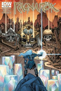 Ragnarok Issue No. 6 - Subscription Cover by Walter Simonson