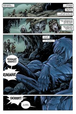 Ragnarok Issue No. 7: The Games of the Gods - Page 12 by Walter Simonson