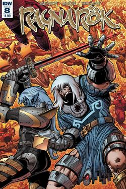 Ragnarok Issue No. 8 - Standard Cover by Walter Simonson