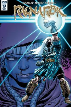 Ragnarok Issue No. 9 - Standard Cover by Walter Simonson