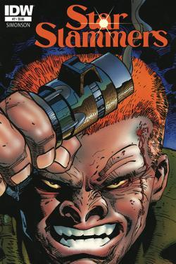 Star Slammers Issue No. 07 - Standard Cover by Walter Simonson