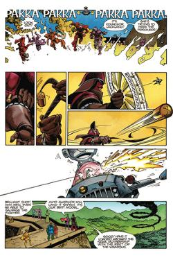 Star Slammers Issue No. 1 - Page 10 by Walter Simonson