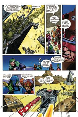 Star Slammers Issue No. 1 - Page 9 by Walter Simonson