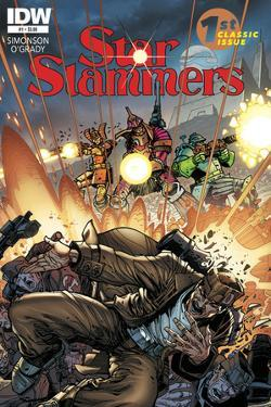 Star Slammers Issue No. 1 - Standard Cover by Walter Simonson