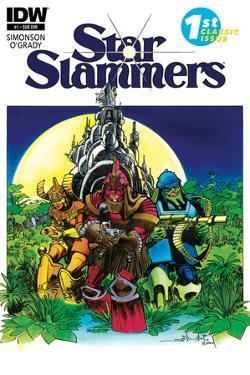 Star Slammers Issue No. 1 - Subscription Cover by Walter Simonson