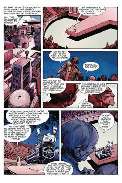 Star Slammers Issue No. 2 - Page 2 by Walter Simonson